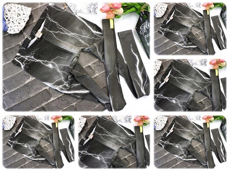 buty do biegania produkty wysokiej jakości jakość IRIE DAILY - LEGGINSY PRINT BŁYSKAWICE BURZA M