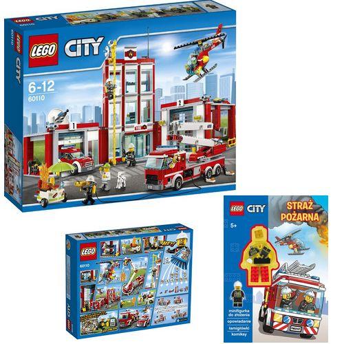 Lego City 60110 Remiza Strażacka Książka Lego 6829965680