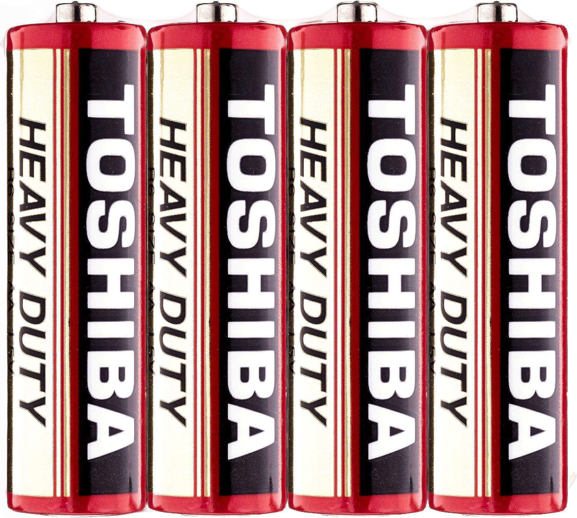 Toshiba Bateria cynkowo-węglowa R6 AA 1,5V HEAVY