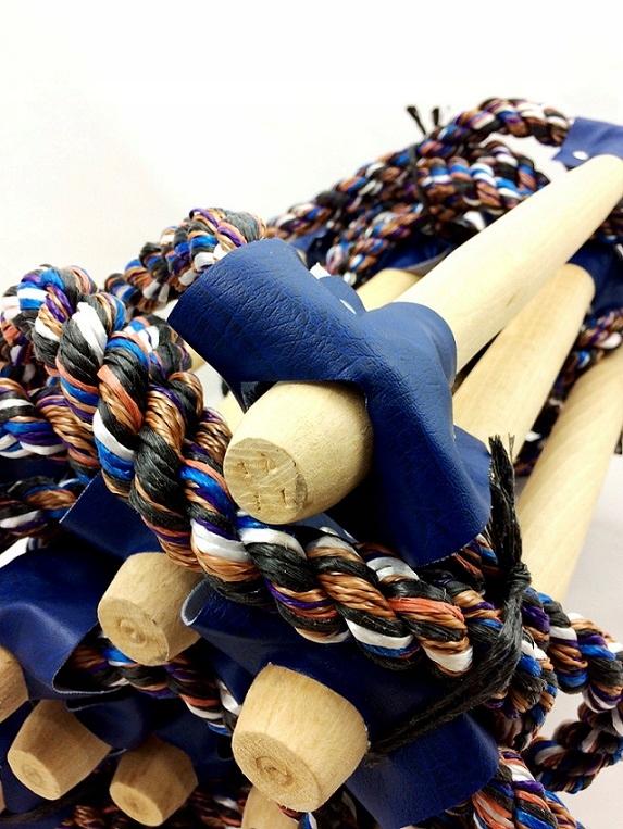 Drabina sznurowa Linotech 7m ATEST