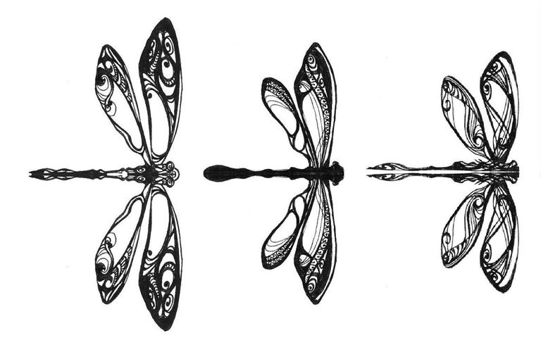 Tatuaż Zmywalny 3 Piękne Ważki 7177792458 Oficjalne