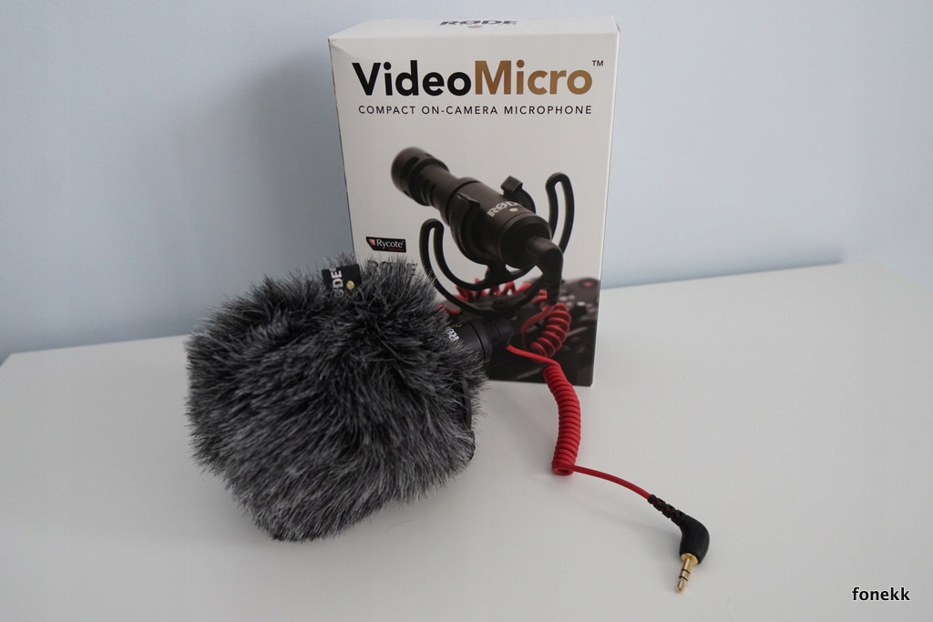 RODE VideoMicro Stan IDEALNY, Mikrofon do aparatu