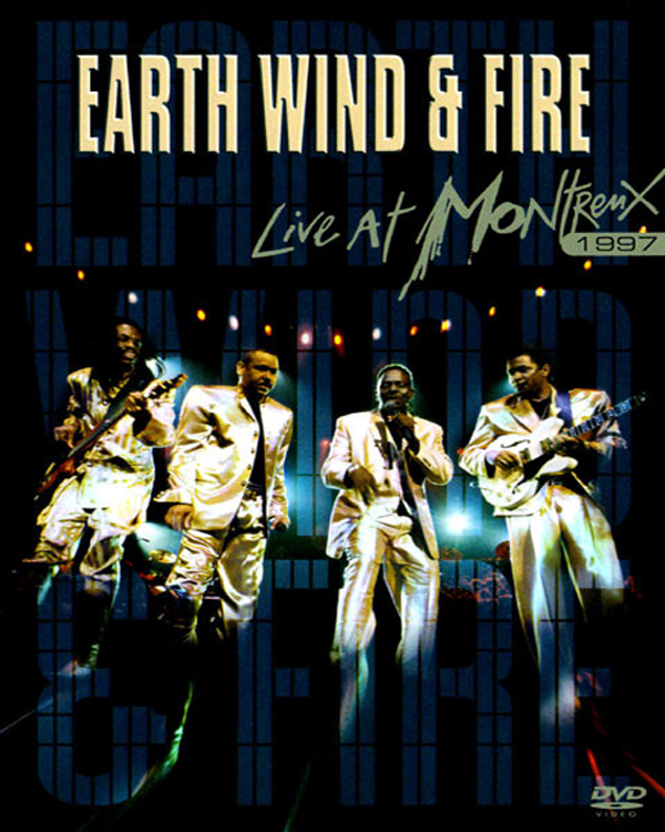 EARTH, WIND & FIRE LIVE AT MONTREUX 1997 DVD