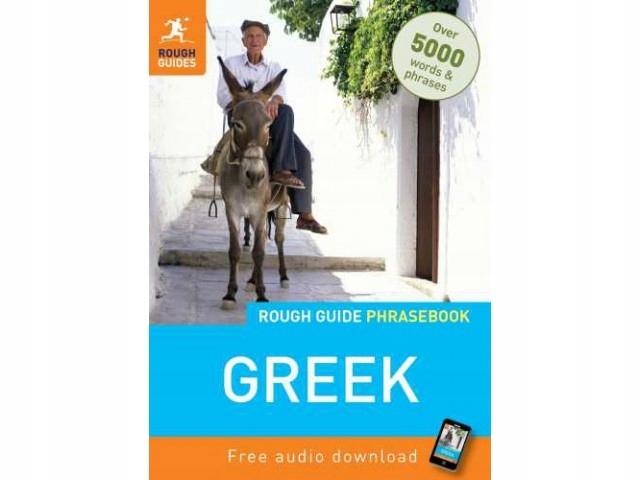 GRECJA rozmówki Rough Guide Greek Phrasebook