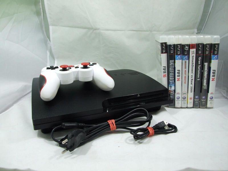 OKAZJA!! KONSOLA PS3 360 GB GRY PAD OD LOOMBARD!!
