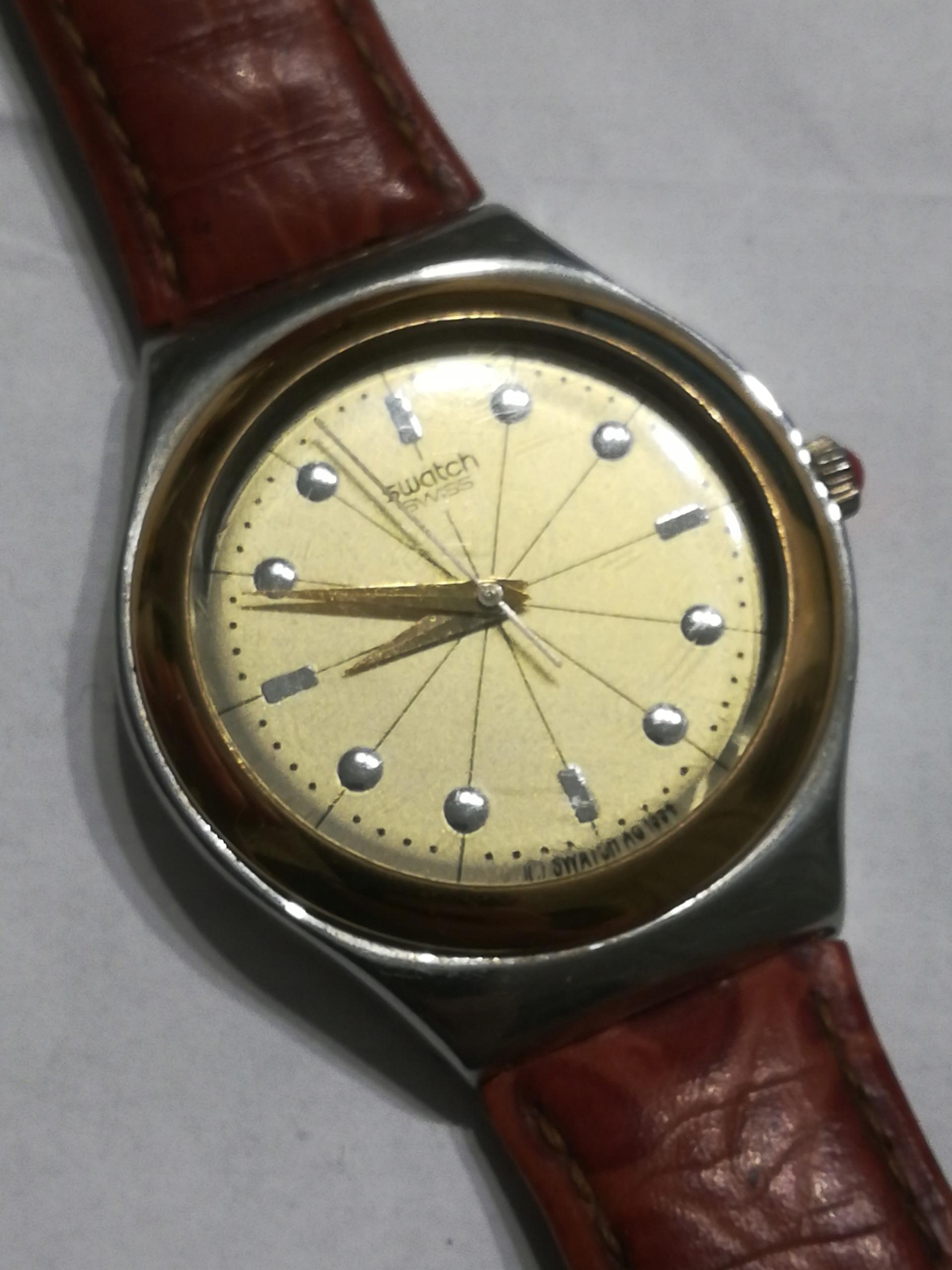 Zegarek męski kwarcowy Swatch
