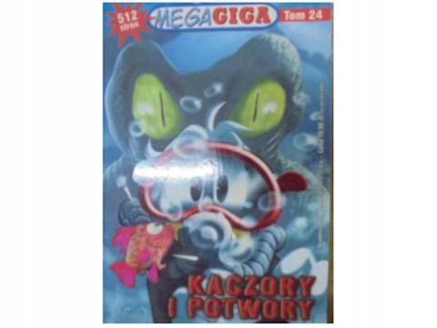 Mega Giga. komiks. kaczory i potwory - 2010