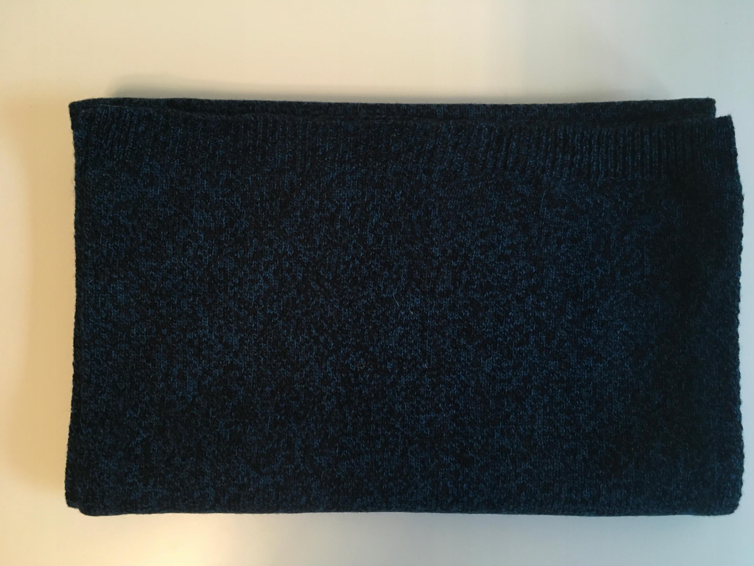 COS szalik, melanż niebieski, 190 x 35