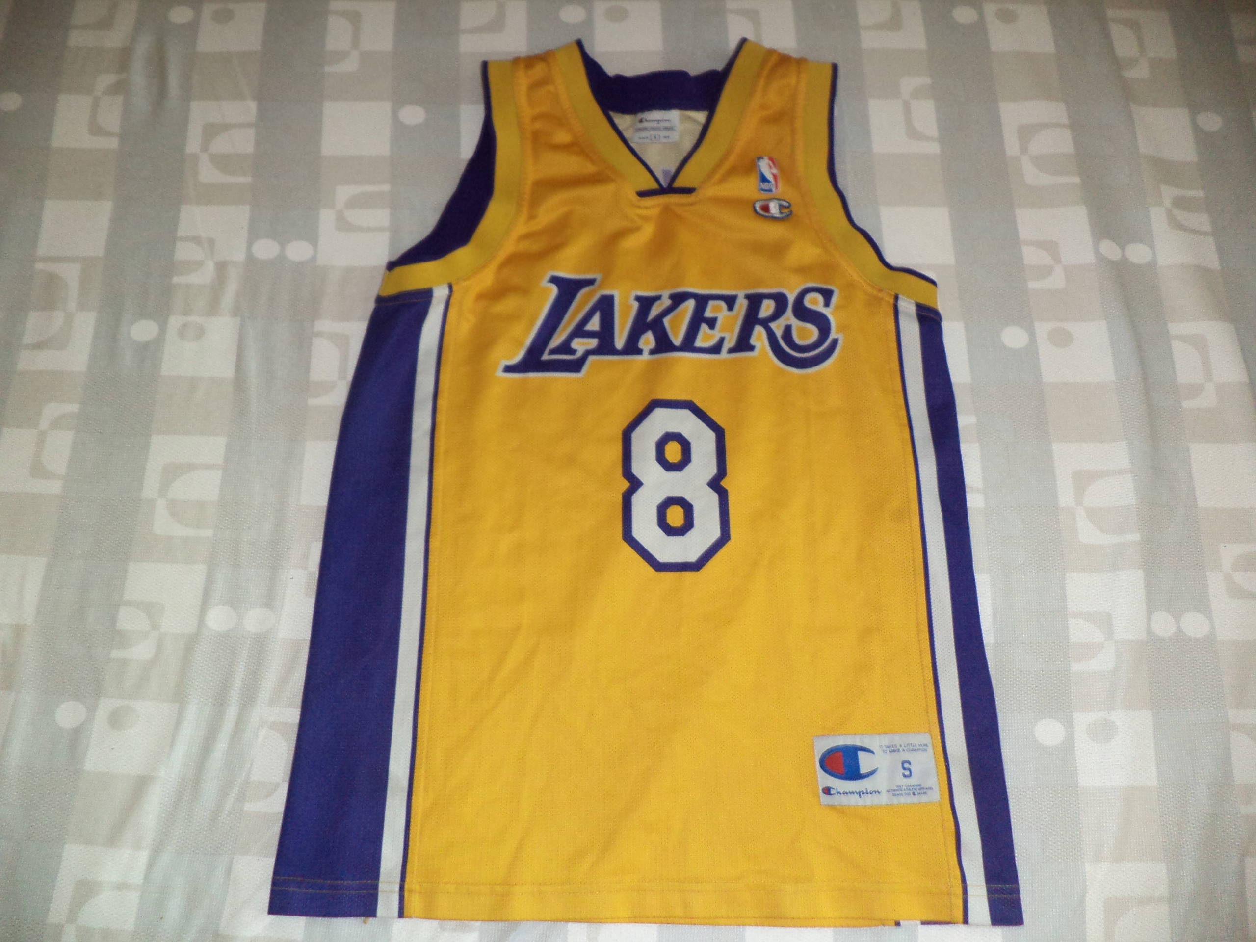 koszulka champion Los Angeles Lakers 8 BRYANT NBA