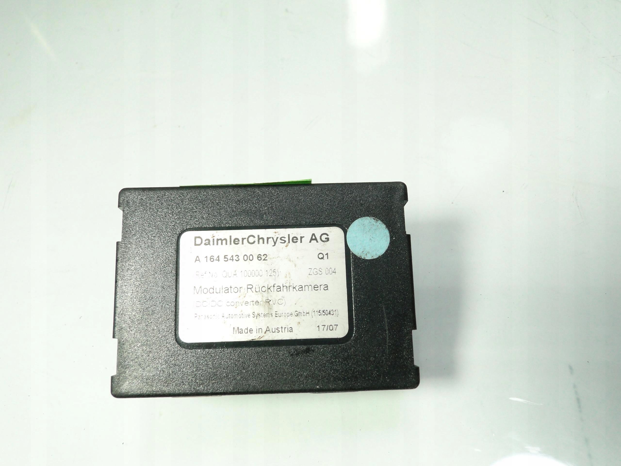 MERCEDES W164 ML MODUŁ KAMERY A1645430062