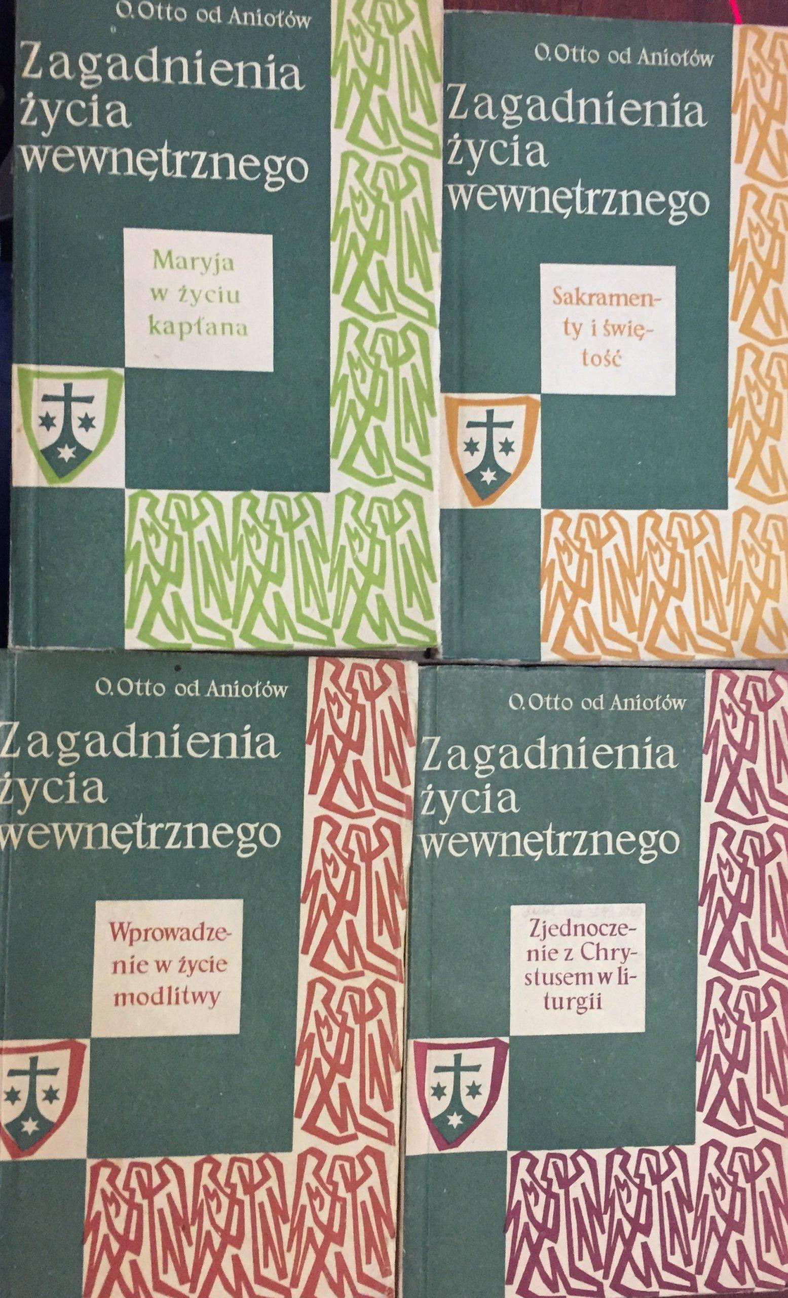 Zagadnienia życia wewnętrznego 4 książki