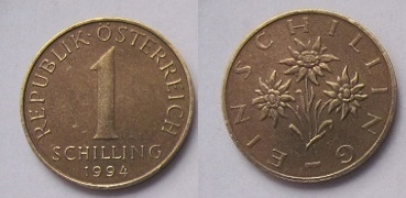 Austria 1 schillng 1994