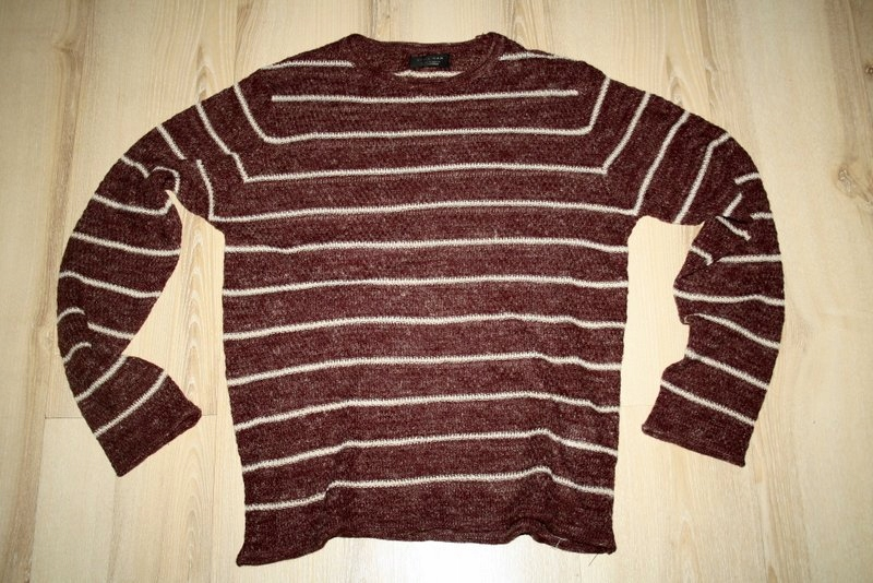 ZARA MEN letni akrylowy sweter M L 48 50