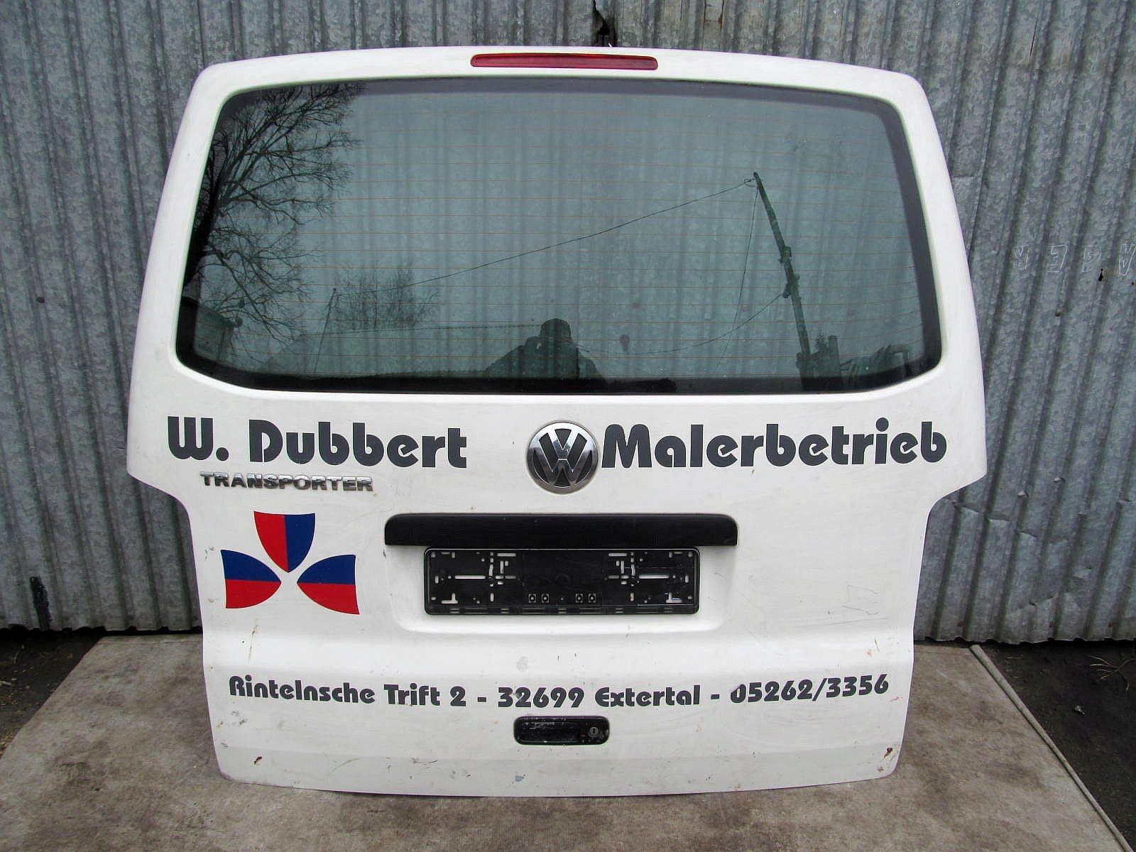 KLAPA TYŁ KPL - VW T5 7H 05r