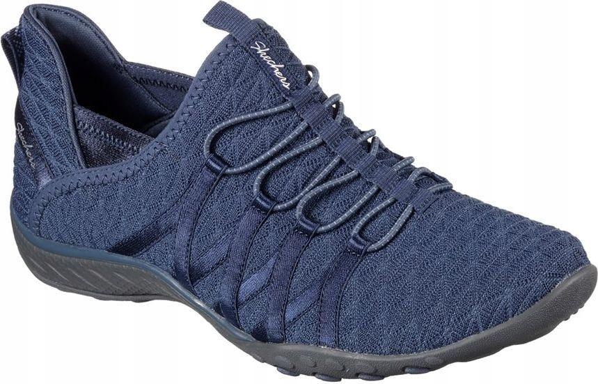 Skechers Buty damskie Breathe Easy niebieskie r. 3