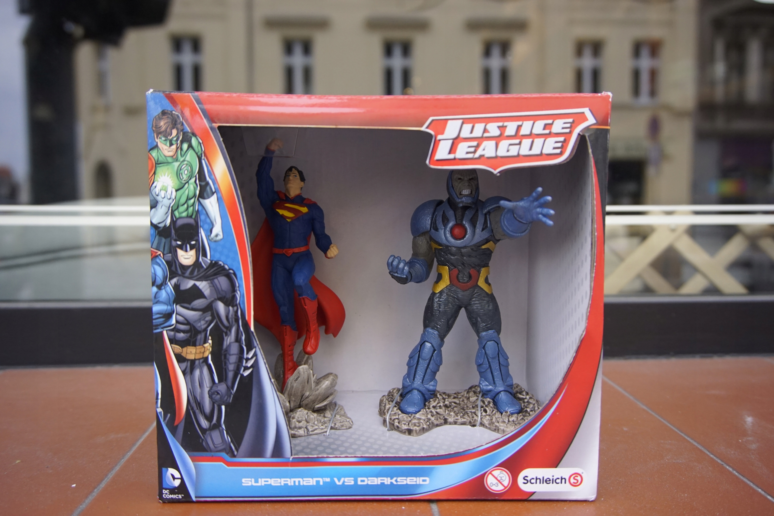 SCHLEICH 22509 figurki Superman Vs Darkseid NOWY
