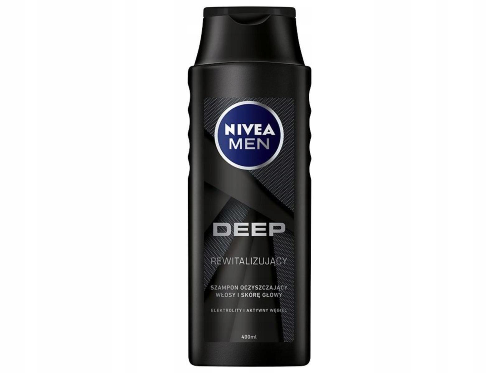 NIVEA Men Szampon DEEP rewitalizujący for 400ml