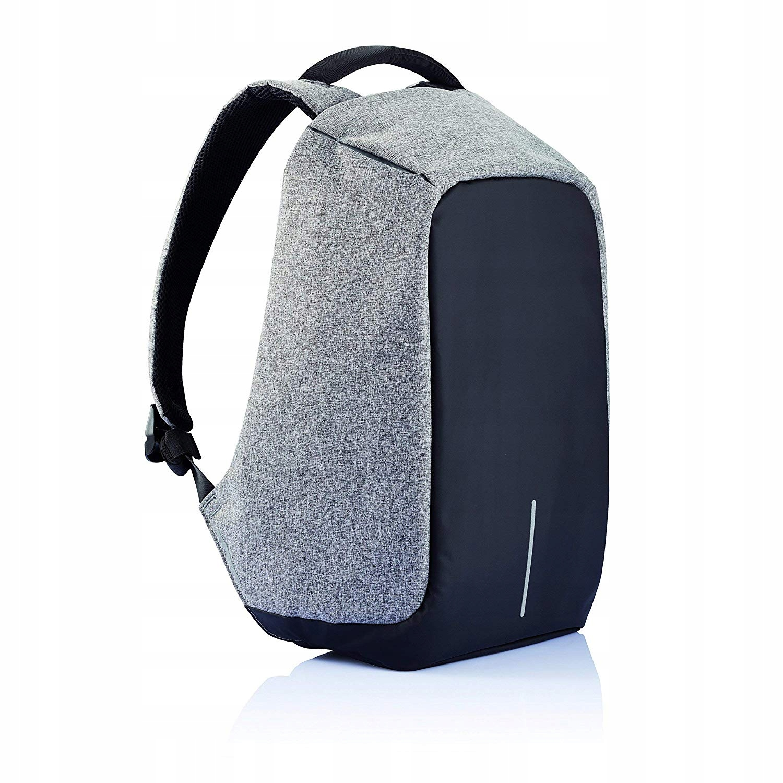 Plecak antykradzieżowy XD DESIGN BOBBY laptop USB