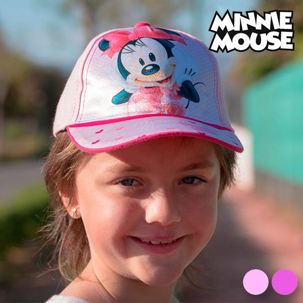 Dziecięca Czapka Minnie Mouse Różowy