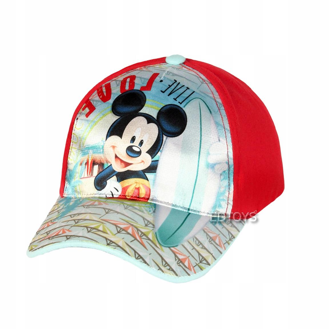 Czapka z daszkiem Disney r. 52 MIKI W2