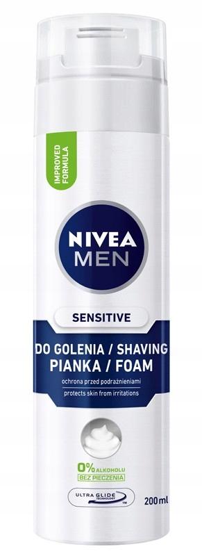 NIVEA FOR MEN Pianka do golenia ŁAGODZĄCA 200ml