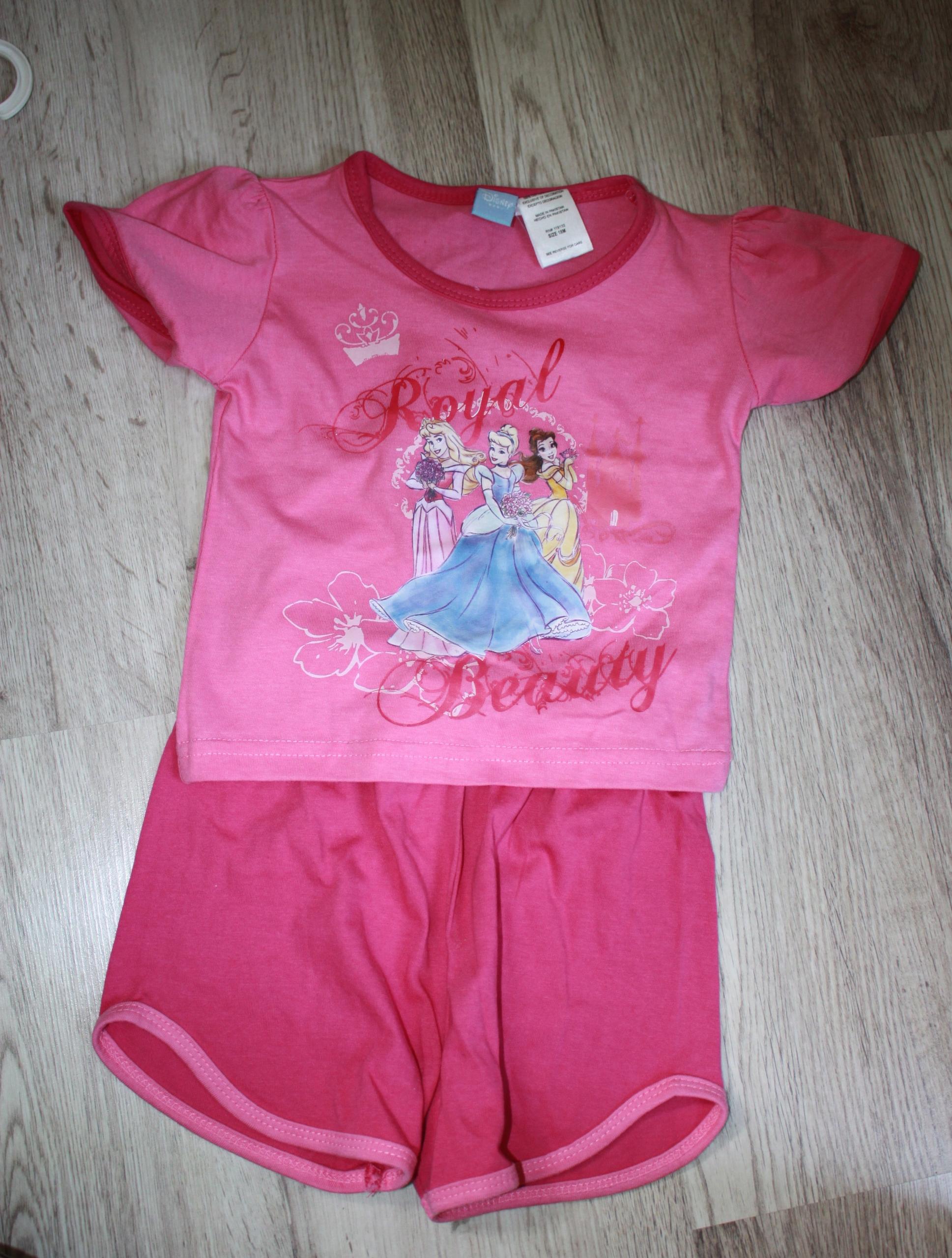 Komplet 2cz letni T-shirt i spodenki Disney 86