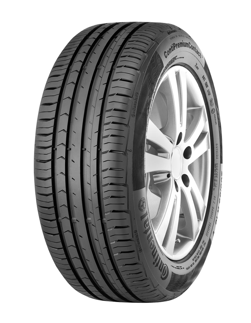 1x Continental ContiPremiumContact 5 195/65 R15 91