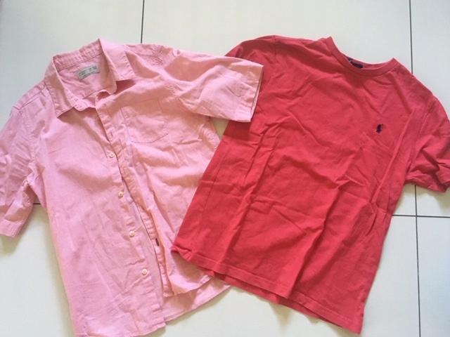 Koszula ZARA 140 + Polo Ralph Lauren M (11-12 lat)