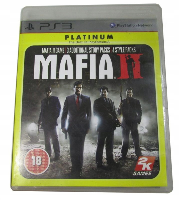Gra Ps3 Mafia Ii Platinum Plakat Mapa 7850930103