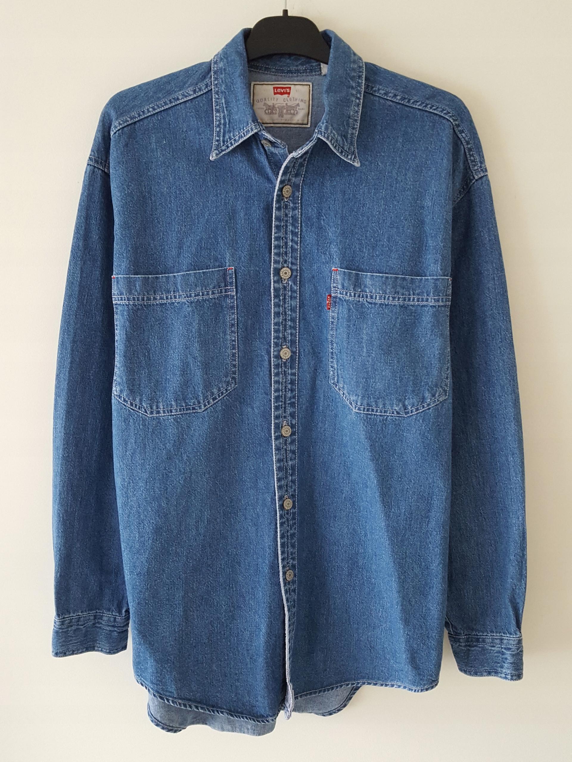 Koszula męska jeansowa Levi's r. S