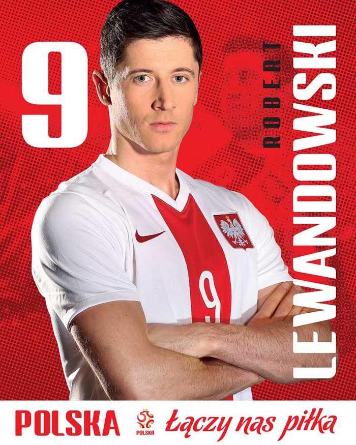 Robert Lewandowski 9 - plakat