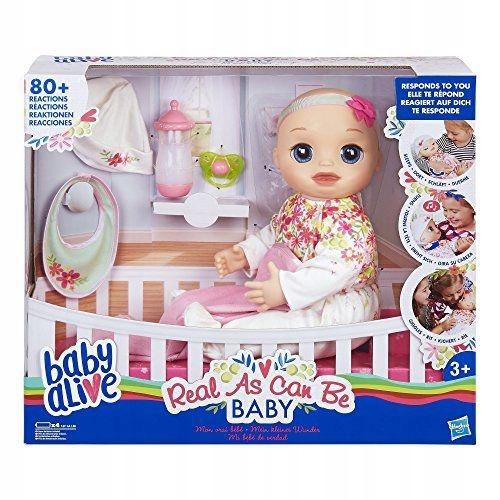 Lalka Baby Alive, interaktywne niemowlę
