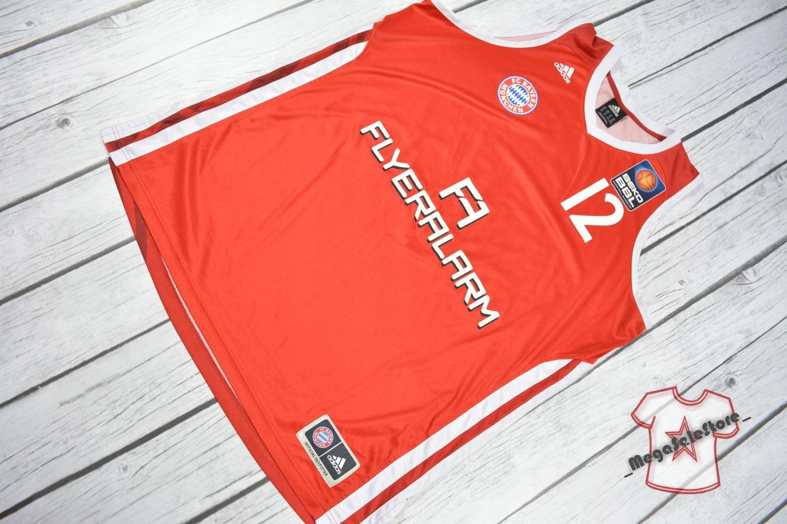ADIDAS BAYERN MUNCHEN NBA BASKETBALL_Rozmiar 2XL