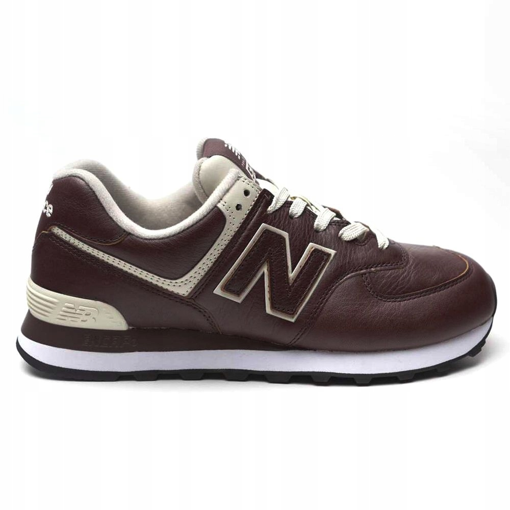 Buty New Balance ML574LPB brązowe sneakersy 41,5
