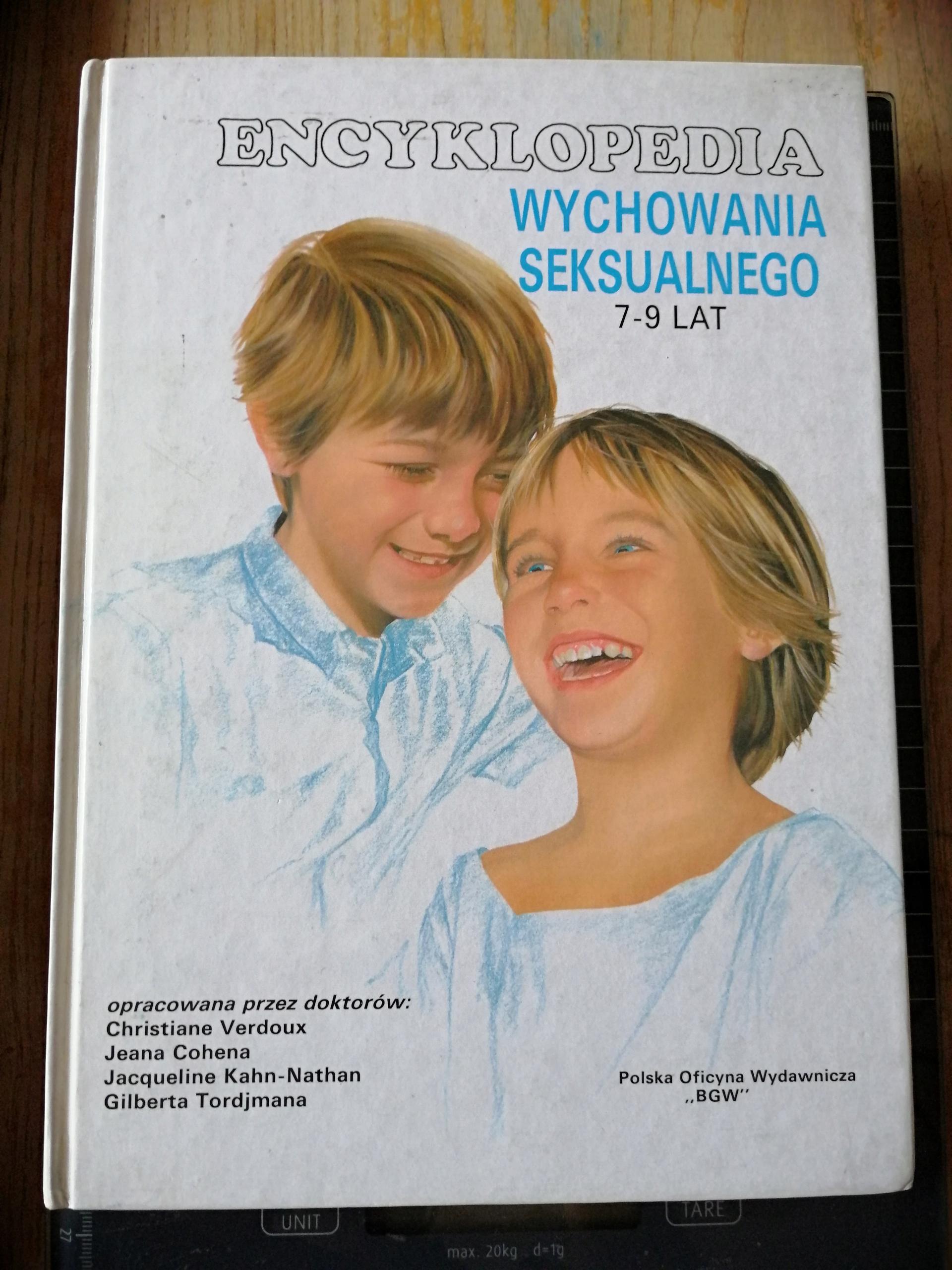 @ Encyklopedia wychowania seksualnego 7-9