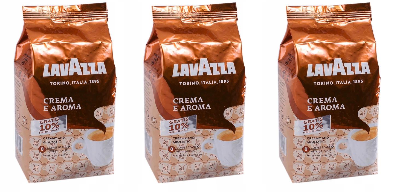 Kawa ziarnista Lavazza Crema Aroma 3 kg +300 g