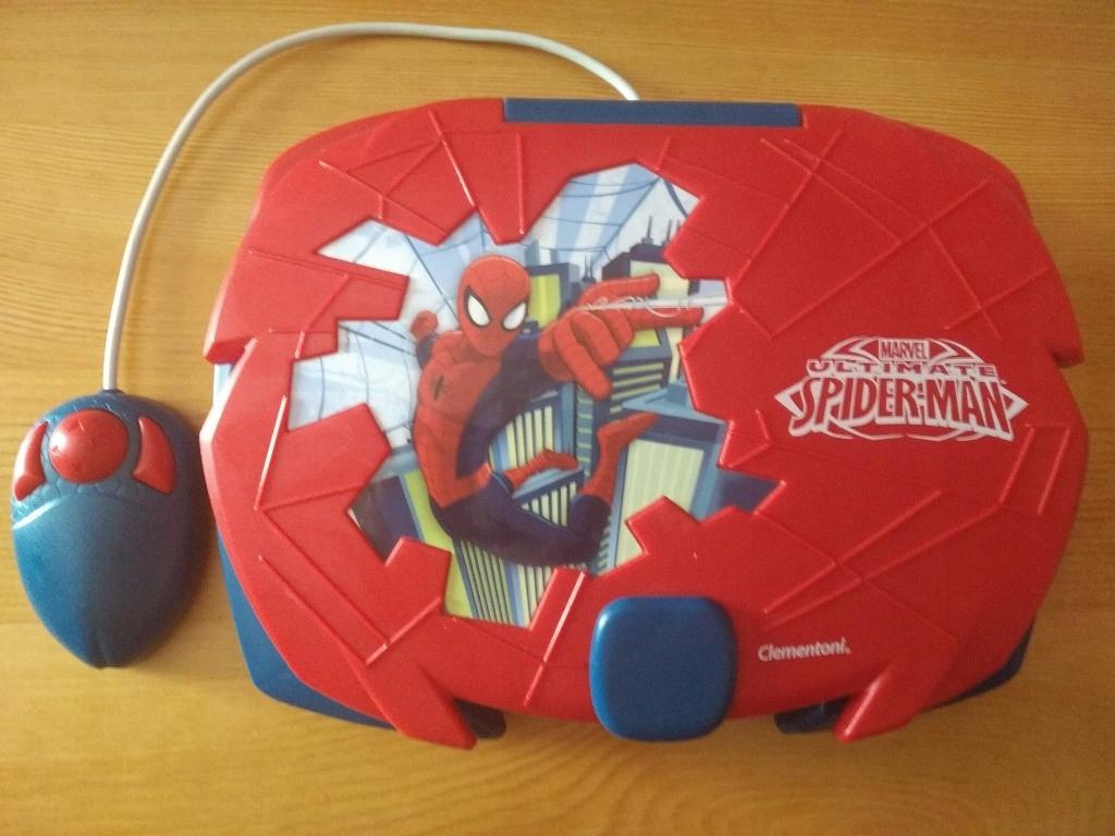 Edukacyjny laptop Spider-Man dla dzieci
