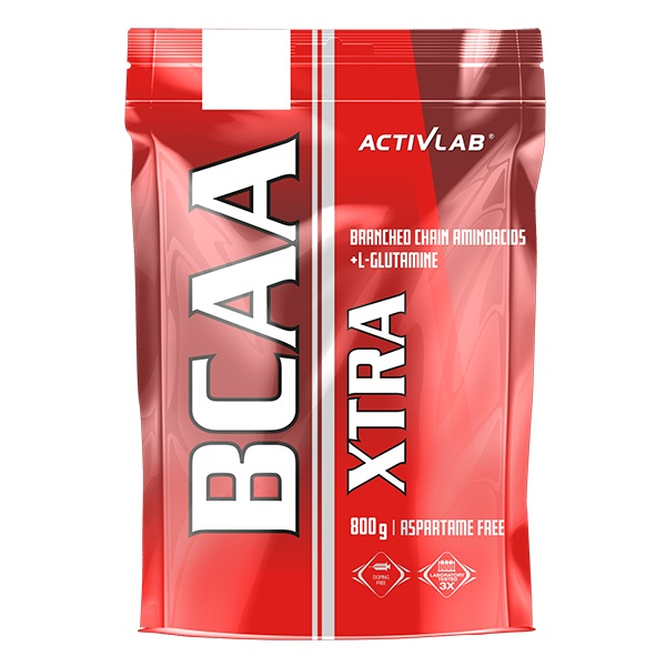 ACTIVLAB BCAA XTRA 800g GLUTAMINA XPLODE AMINO 3R