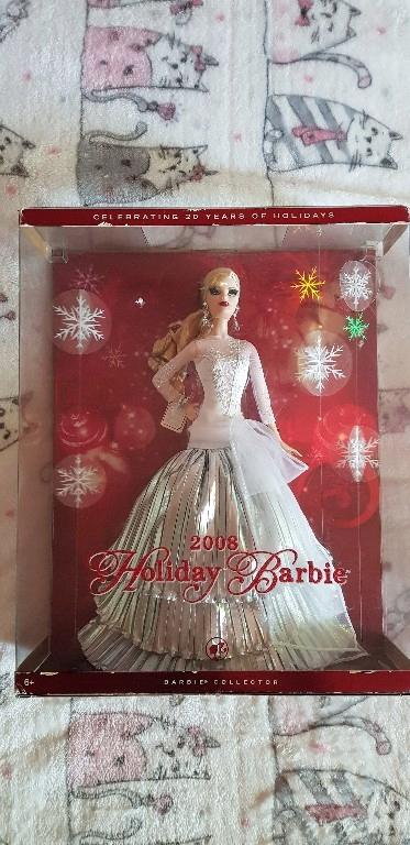 Barbie Holiday 2008 Kolekcjonerska