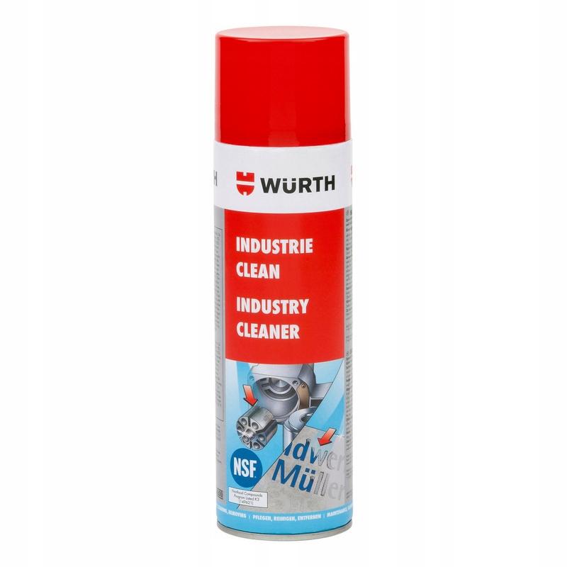 Wurth INDUSTRY CLEAN zmywacz kleju 500ml