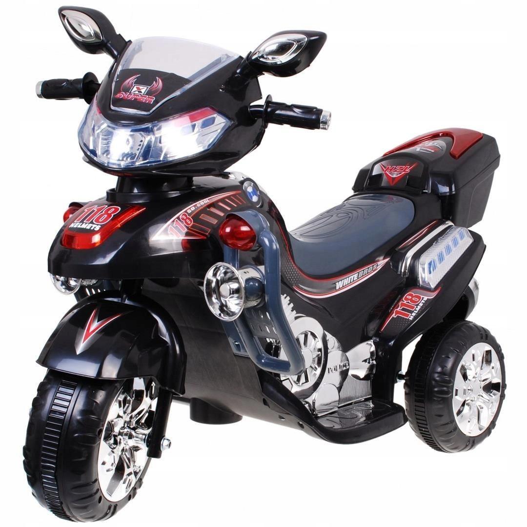MOCNY MOTOR MOTOREK NA AKUMU DZIECIĘCY DŹWIĘKI