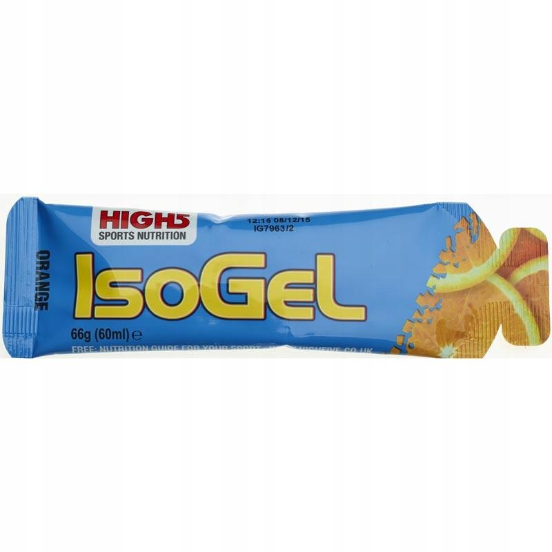 HIGH5 ISOGEL POMARAŃCZOWY NAJLEPSZE ŻELE !!!
