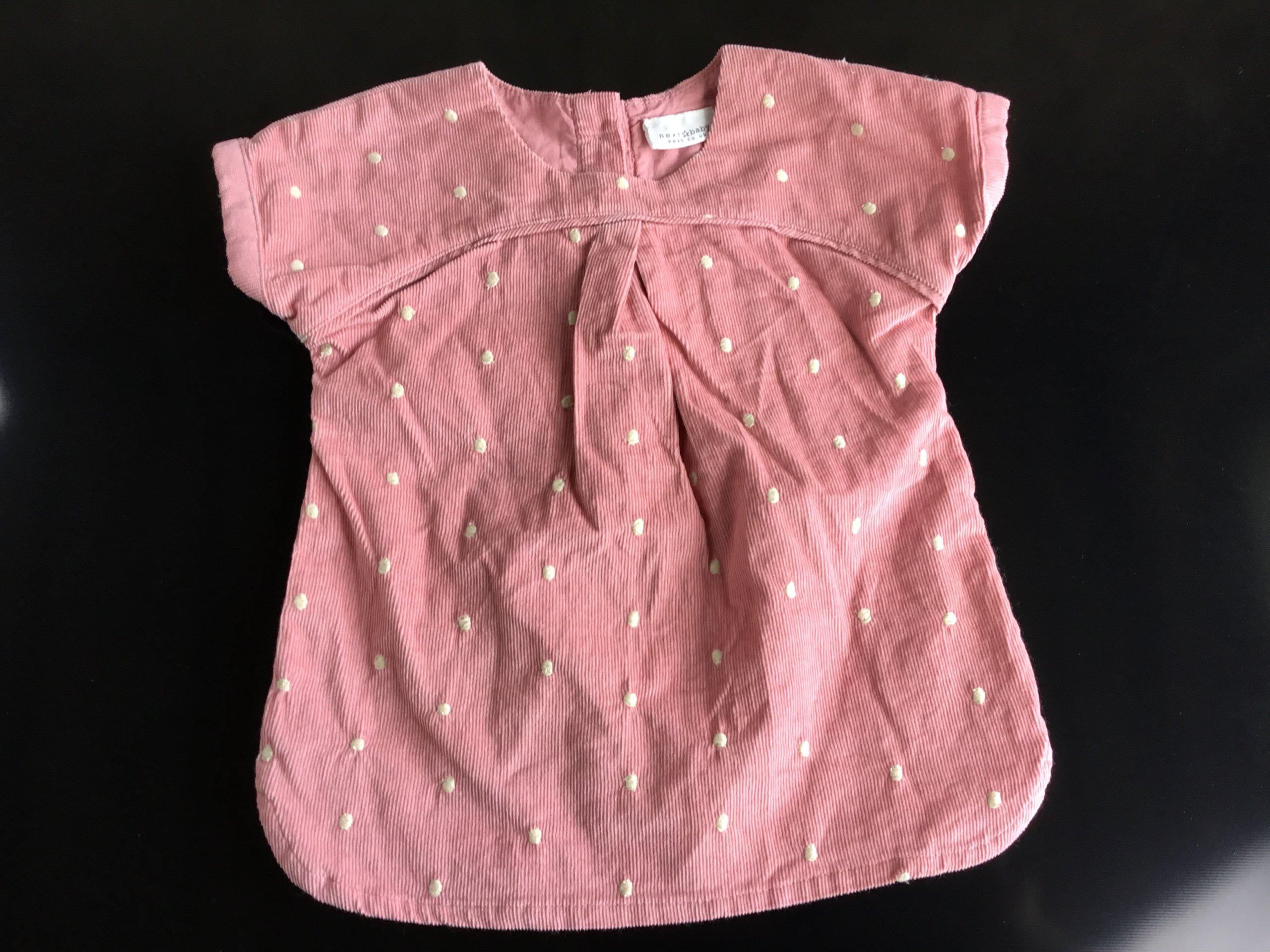 Sukienka tuniczka next dla dziewczynki 0-3 mc bdb