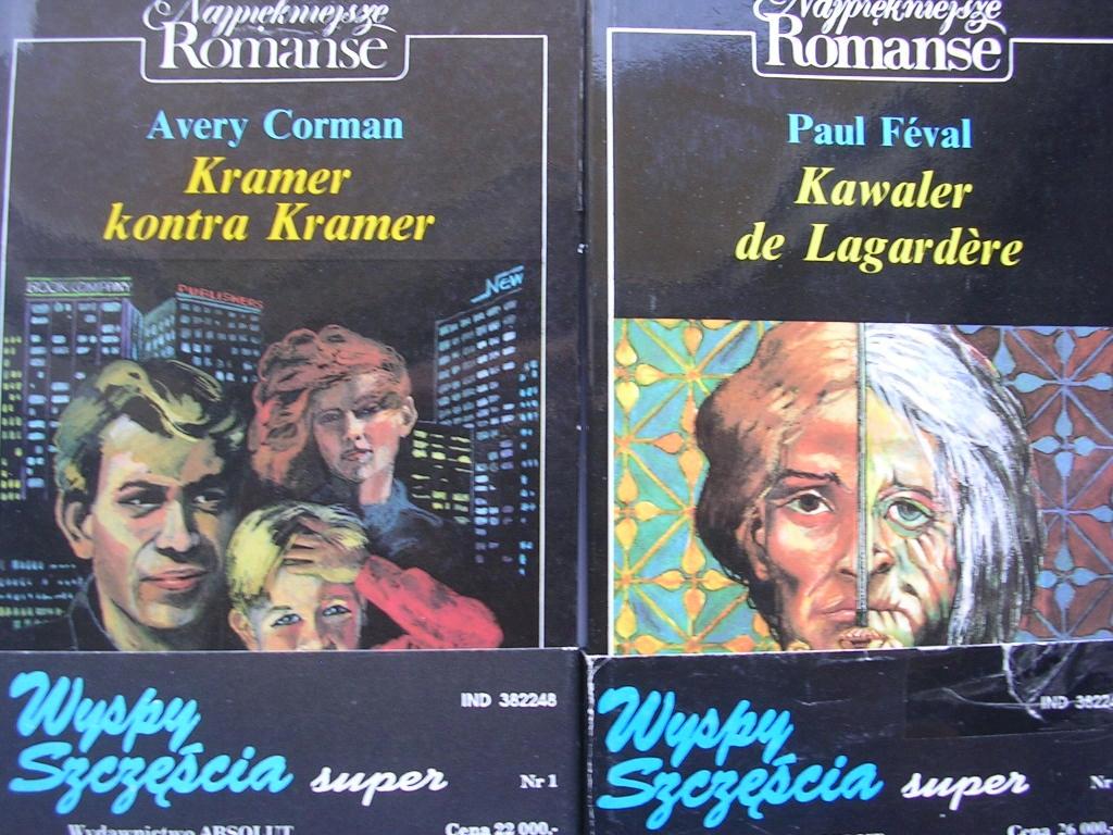 Kawaler De Lagarde - Feval + Kramer kontra Kramer