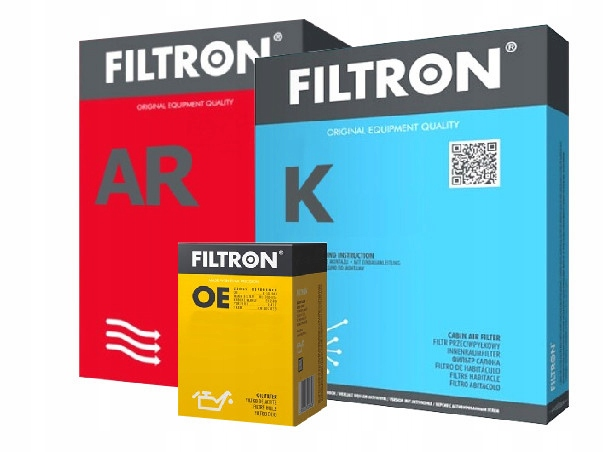 KPL FILTRÓW FILTRON SKODA OCTAVIA II Combi 1.6