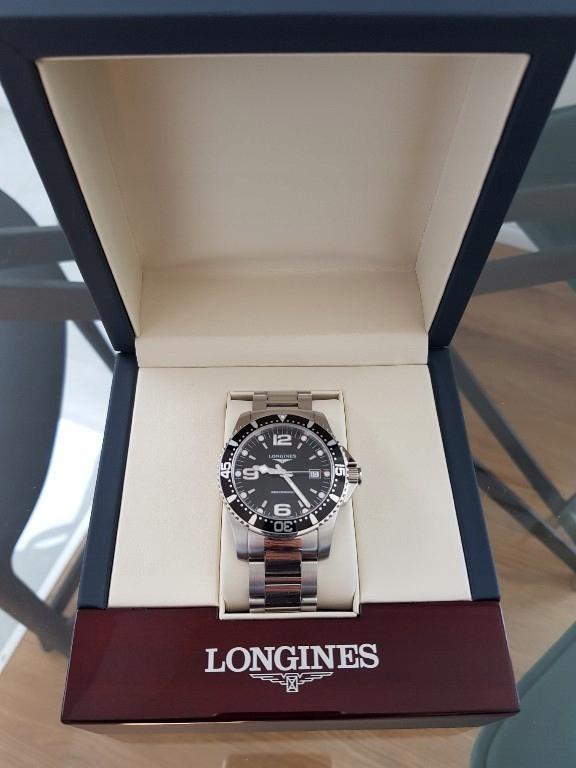 Longines HydroConquest 41mm jak nowy
