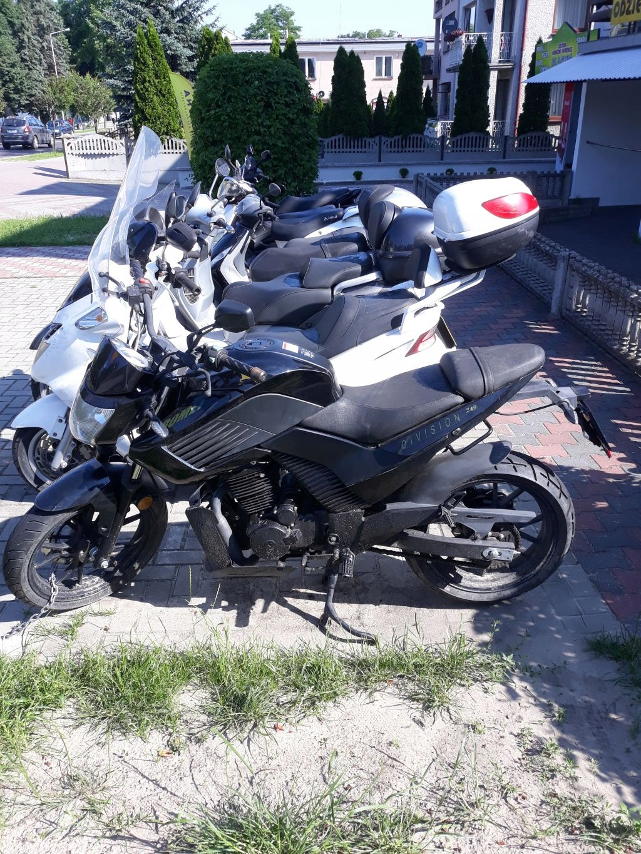 Motyocykl Romet 250