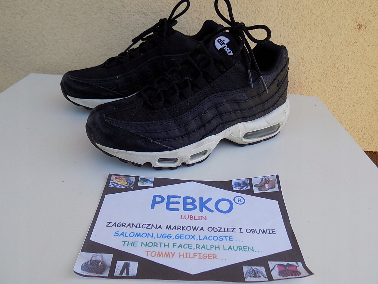 DAMSKIE BUTY NIKE AIR MAX 95 PRM LIGHT PUMICE R 39
