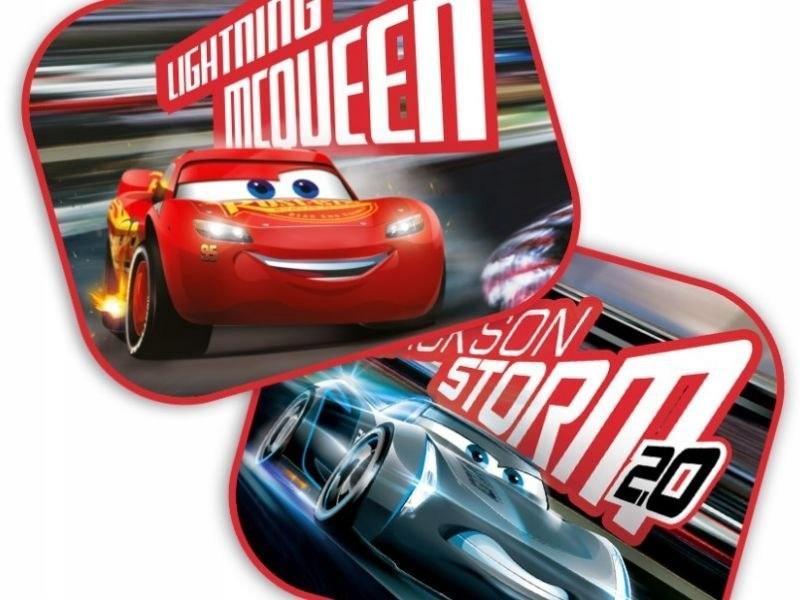 Zasłonki Boczne Przeciwsłoneczne Auta Cars 3