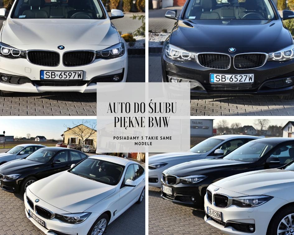 Piękne BMW do ślubu, 3 takie same modele, zobacz